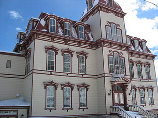 Fourth Ward School in Virginia City, Nevada.