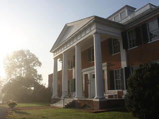 View of the north side of Long Branch Plantation