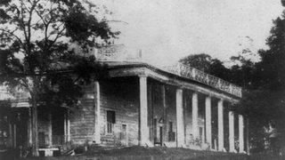 A picture of Mount Vernon in the 1800s.
