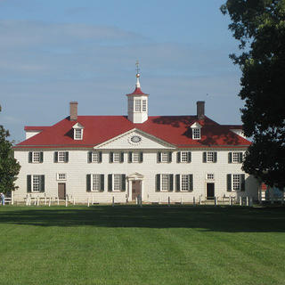 View of Mount Vernon from across the grounds