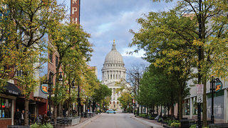 State Street in Madison, WI.