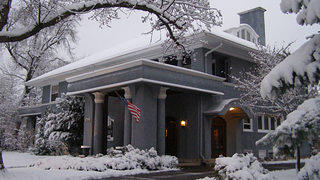 Wausau Prairie School Mansion - Winter