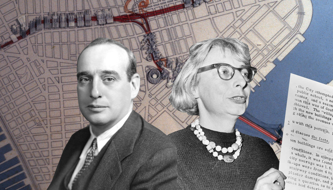 a history of robert moses and jane jacobs history essay Our version of this story is told through the lens of the struggle between jane  jacobs and robert moses over the fate of washington square park and lower.