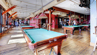 Billiards at the Phantom Canyon Brewing Company