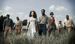 "The cast of the WGN series ""Underground"""