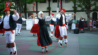 Basque Dancers in Boise, Idaho