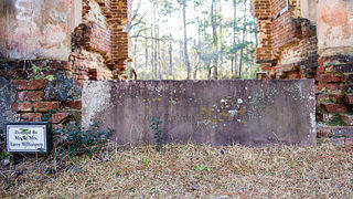 Prince Frederick's Chapel Ruins: The Cornerstone
