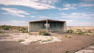 Petrified Forest National Park Rest Shelter