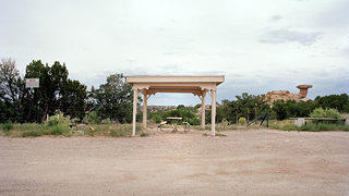 Roadside Shelter Near Pojoaque, New Mexico