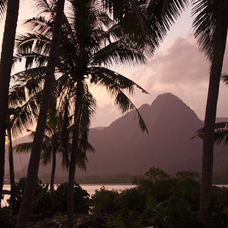American Samoa sunset. Photo by Eli Keene