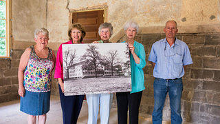 Members of the Glenn Springs Preservation Society