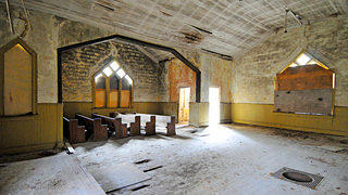 Glenn Springs Presbyterian Church - Interior