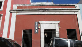 Exterior of El Batey in Old San Juan, Puerto Rico