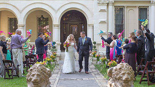 Wedding at Villa Finale, Horizontal