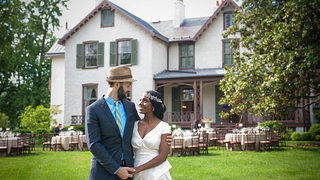 Nick and Sedia's Wedding at President Lincoln's Cottage