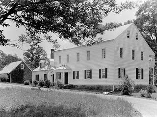Exterior of the Rockingham from 1930s