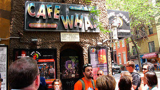 Cafe Wah During Walking Tour