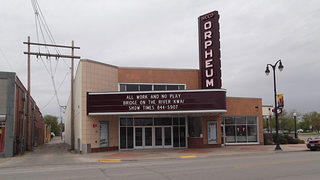 Orpheum Theater in Marshalltown, Iowa