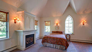 Andrew Jackson 1850 Gothic Revival - Master Bedroom