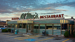 A classic American diner