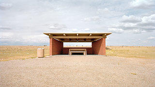 Brick Rest Stop in Clines Corners, New Mexico