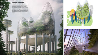 New York State Pavilion Ideas Competition Winners: Hanging Meadows