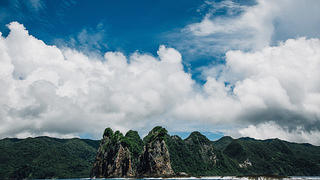 The National Park of American Samoa is mostly located along Tutuila's jagged north coast.