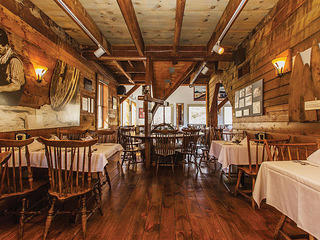 Dining room at the Grist Mill