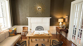 Parlor of the rehabbed house in Waterford, Virginia. Credit: Scott Suchman
