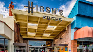 Hirsh's Shoes 2934 E. Broadway on Tucson's Sunshine Mile