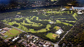 Lions Municipal Golf Course Aerial View