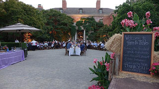 Farm to Table Dinner at Filoli