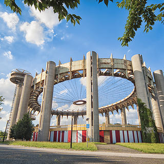 World's Fair site in Flushing, Queens, NY