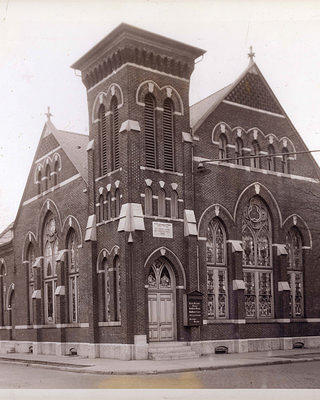 Historic Photo of Urban Krag as the Reformed Church