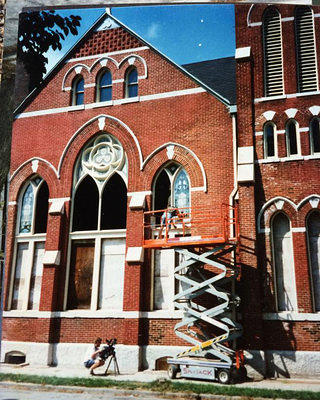 Fixing Stained Glass in 1995