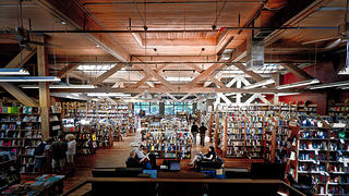 Elliott Bay Book Company is a legendary independent bookstore in Seattle.