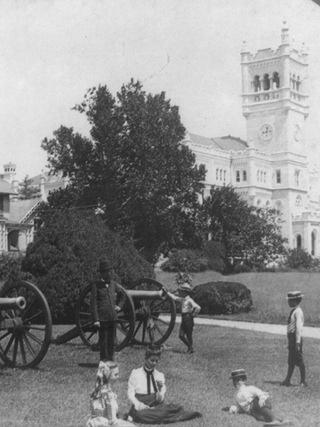 Historic photo of the Soliders Home campus