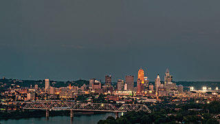 View of Cincinnati, the location of Curtis Sittenfeld's Eligible.