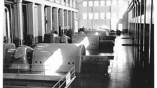 Seaholm Power Plant Historic Photo of the Interior