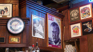 Sloppy Joe's Key West Florida Ernest Hemingway Memorabilia