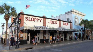 Sloppy Joe's Key West Florida Exterior from Duval