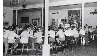 Sloppy Joe's Key West Florida Historic 1950s Photo of Patrons