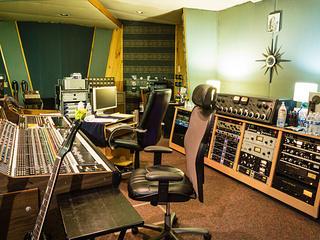 RCA Studio A - Control Room - Music Row, Nashville