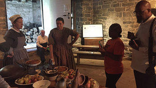 The Slave Dwelling Project at Belle Grove Plantation Kitchen Demonstration