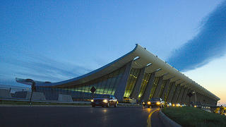 Dulles International Airport, designed by Eero Saarinen