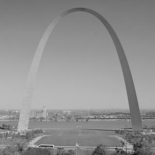 St. Louis Gateway Arch, by Eero Saarinen