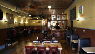 Interior of Worth Brewing Company