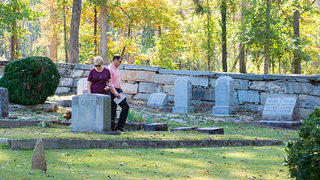 Sacred Places Ebenezer A.R.P. Church Cemetery is still active