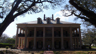 Oak Alley Plantation House Exterior