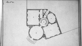 Toolkit Irregular Floor Plan Octagon House Drawn by William Thornton